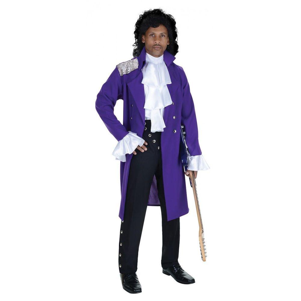 80 39 s prince purple rain deluxe costume stoner 39 s funstore. Black Bedroom Furniture Sets. Home Design Ideas